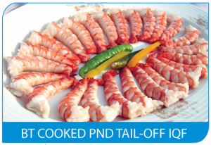 BT Cooked PND Tail-Off IQF