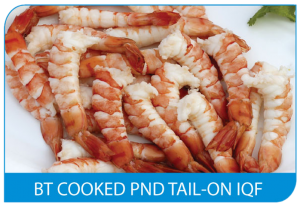 BT Cooked PND Tail-On IQF