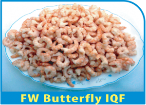 FW Butterfly Cooked IQF