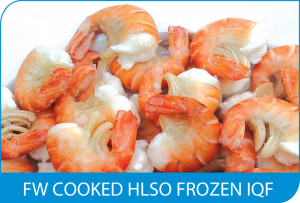 FW COOKED HLSO FROZEN IQF